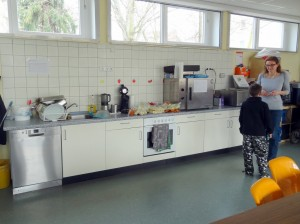 Betreuung Küche